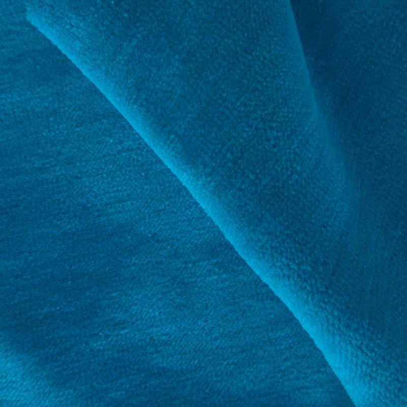 Nicky velours turquoise