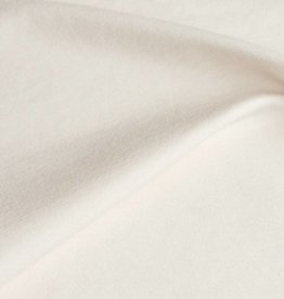 stof Single jersey stretch 30/1 heavy - natural white (L)