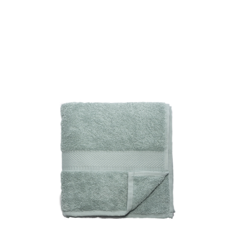 Face cloth made of organic cotton, 30 x 30 cm - mineral green