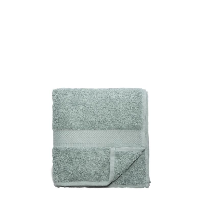 Gesichtstuch aus Bio-Baumwolle 30 x 30 cm - mineralgrün