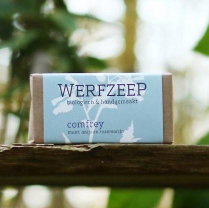 Organic  Comfrey soap (set of 6 pieces)