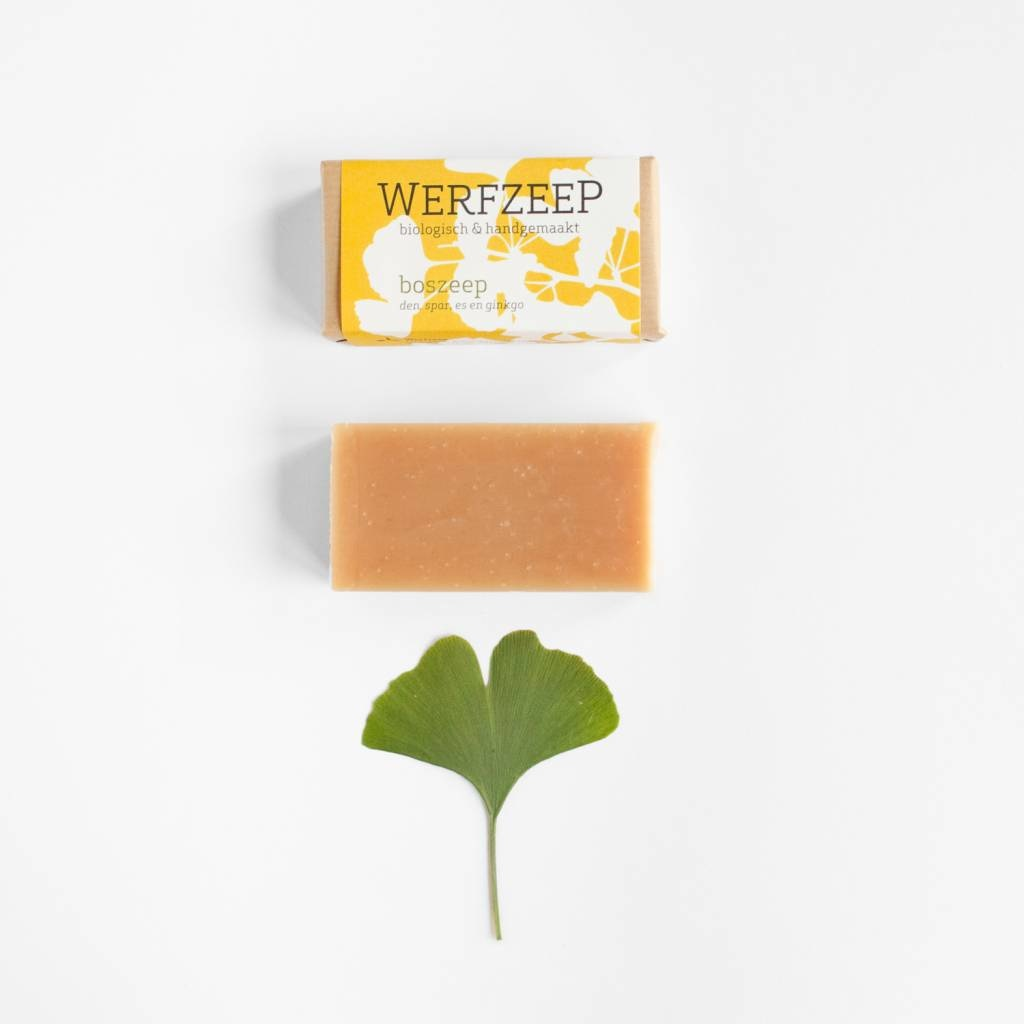 Organic Woodland soap (set of 6 pieces)