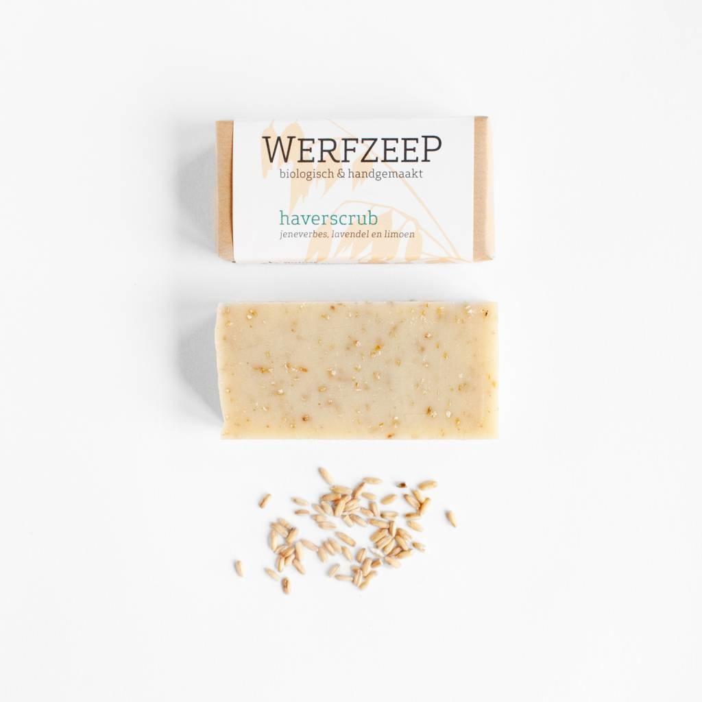 Organic Dutch oat scrub soap (set of 6 pieces)
