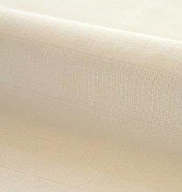 Hydrofieldoek / Mousseline  gebleekt wit - 140cm