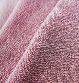 Badstof gebreid - roze