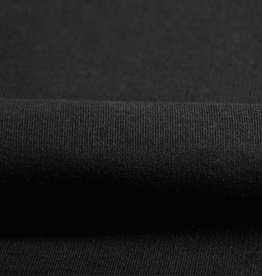 Sweater fabric black