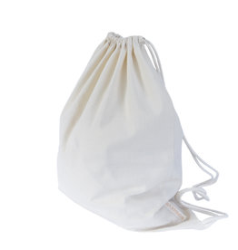 Gym bag- natural white