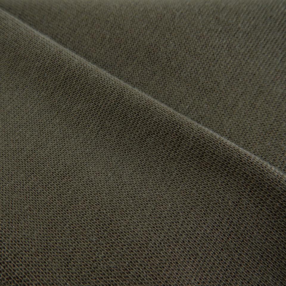 Wrist fabric 1x1 with elastane - burnt olive