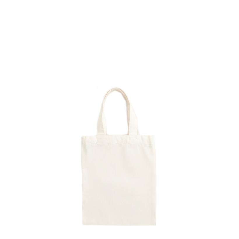 Mini draagtasje - natural white - 22 x 27cm