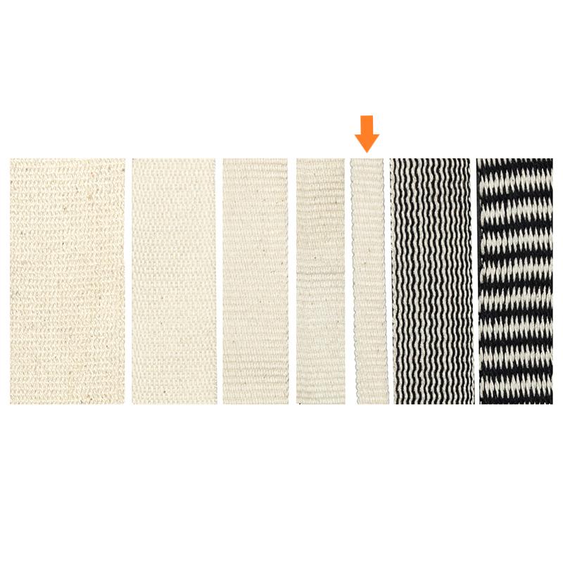 Gewebeband 10 mm aus Bio-Baumwolle