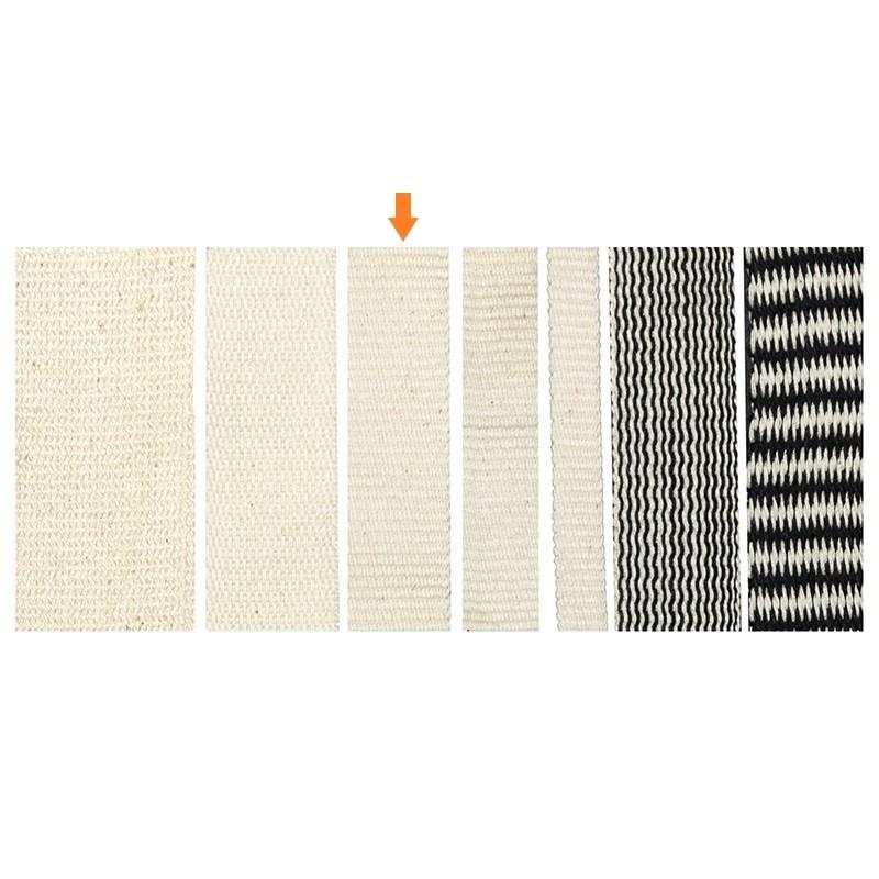 Gewebtes Band 20 mm aus 100% Bio-Baumwolle
