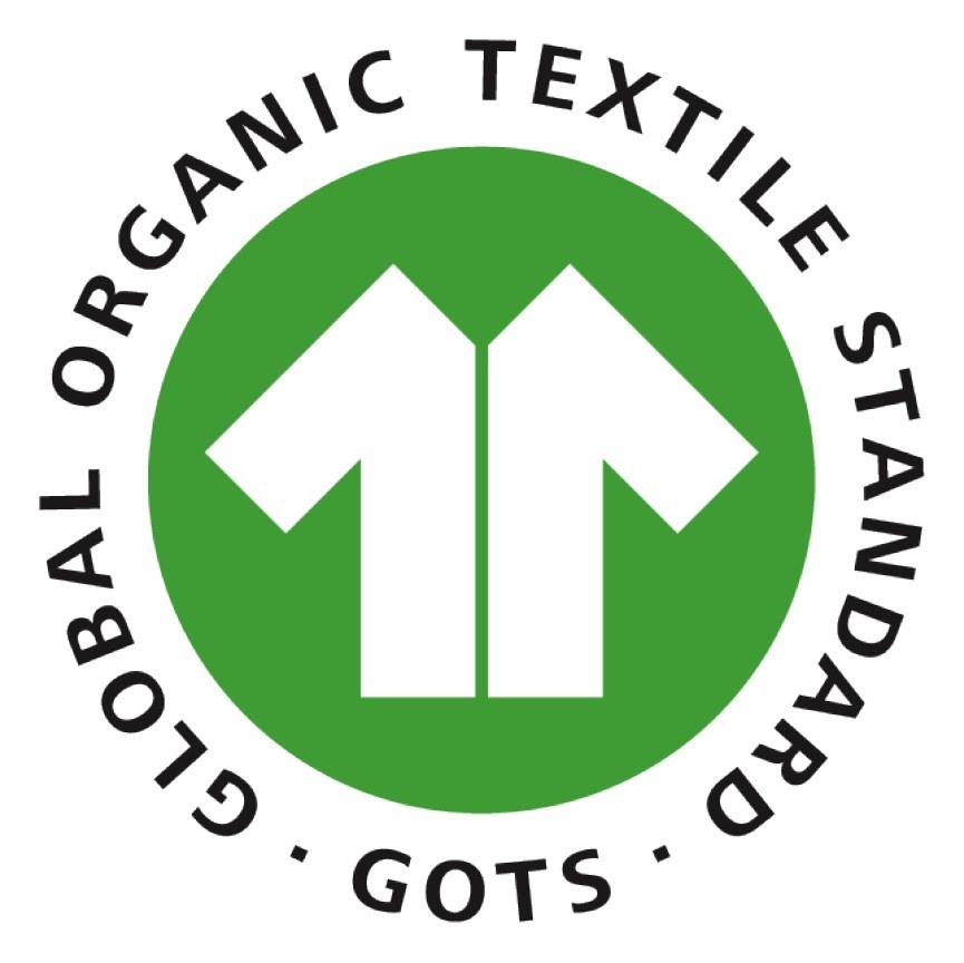 Woven tape 25 mm made of 100% organic cotton