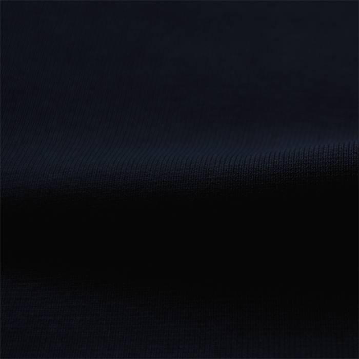 Wrist fabric 1x1 ribbing with elasthan - dark blue - Tubular knit