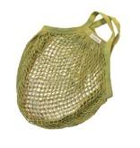Omas Einkaufsnetz limonengrün