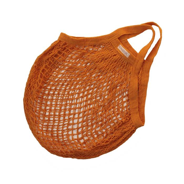 Omas Einkaufsnetz orange