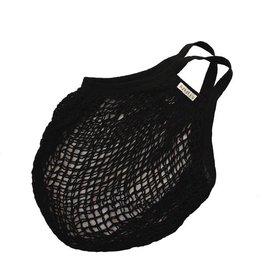 Omas Einkaufsnetz schwarz