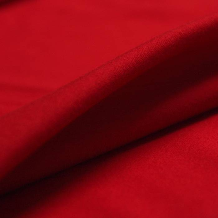 stof Single jersey stretch 40/1 tango red