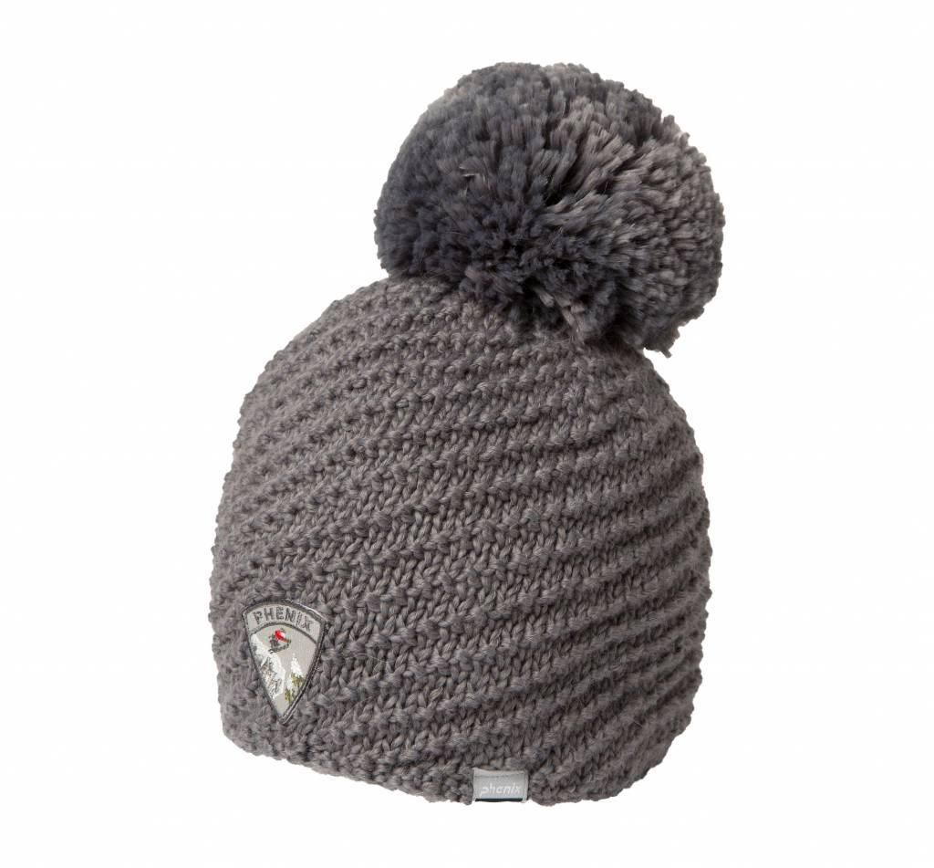 PHENIX Montclair Knit Hat with Pon-Pon