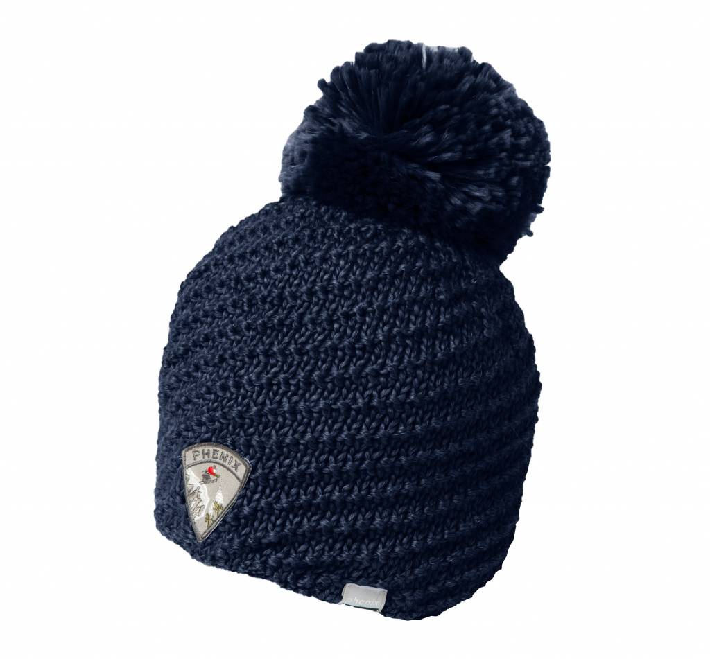 PHENIX Montclair Knit Hat with Pon-Pon