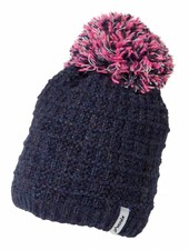 PHENIX Junior Groovy Knit Hat with Pon-Pon