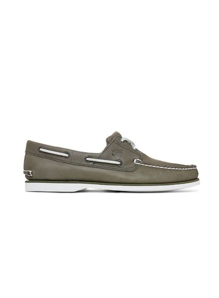 Timberland Mens Icon 2-Eye Boat Green