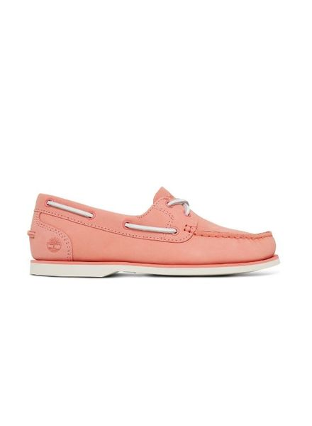 Timberland Womens Classic Boat Shoe Pink