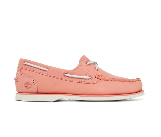 Timberland Damen Classic Boat Unlined Bootschuhe Pink
