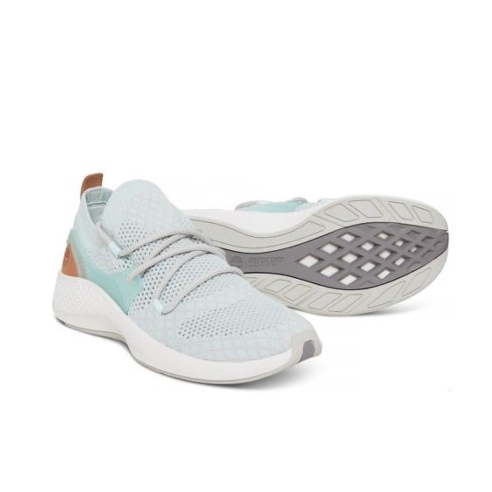 Timberland Womens Flyroam Go Sneaker Light Blue