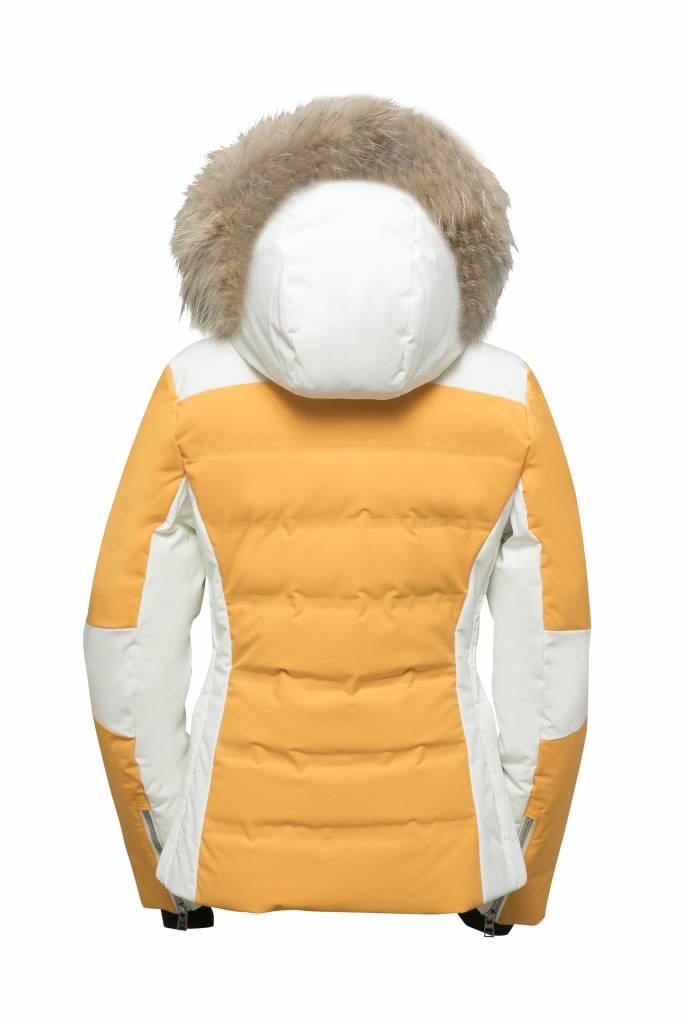 phenix Chloe Hybrid Down Jacket  with Racoon Fur