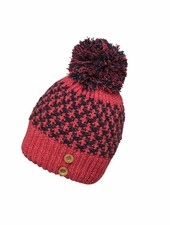 Amber Knit Hat with Pon-Pon