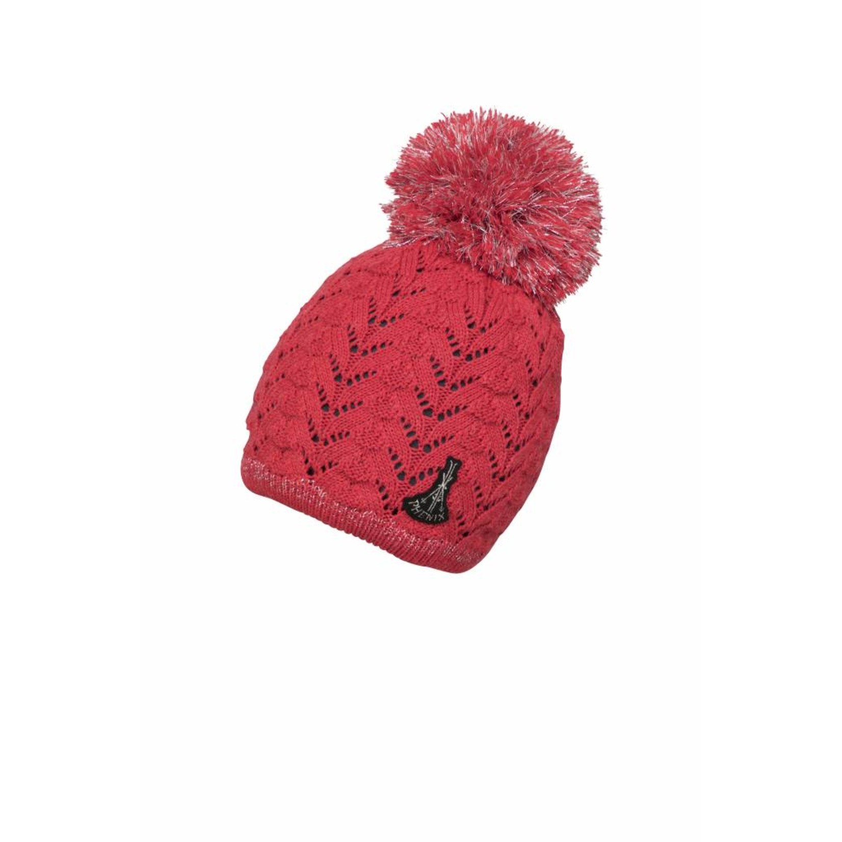 PHENIX  Aurora Knit Hat with Pon-Pon