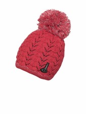 PHENIX  Aurora Knit Hat with Pon-Pon