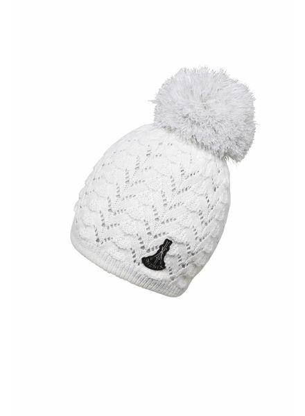 Aurora Knit Hat with Pon-Pon