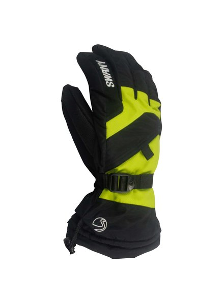 SWANY Glove Junior black/lime