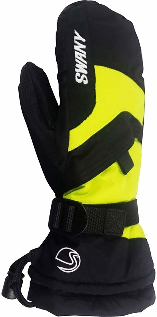 SWANY Mitten Junior black/lime