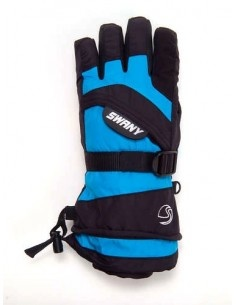 SWANY Glove Junior black/aqua