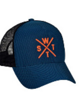 WATTS Tribe Cap 6228 carbon blue