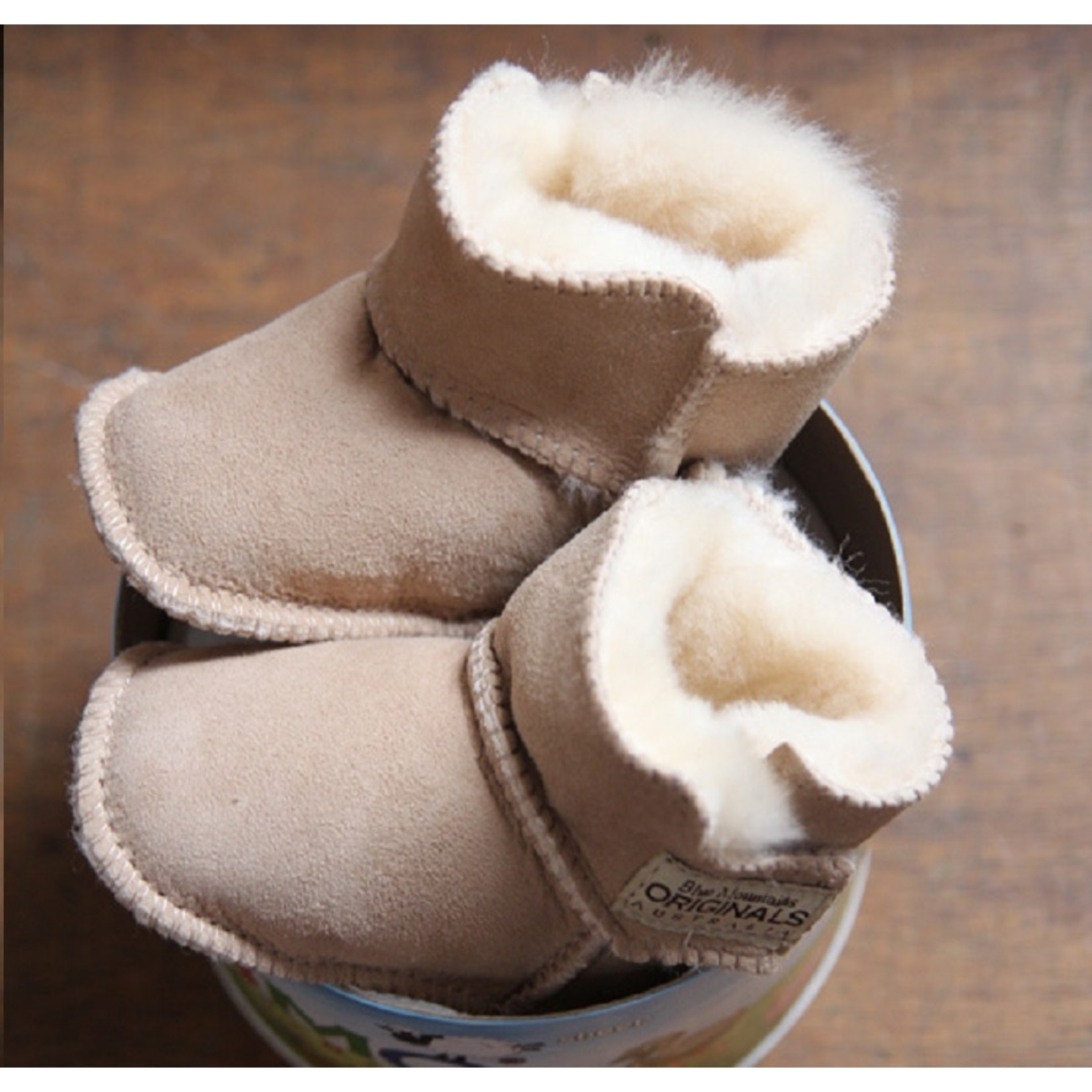 BMO Baby Boot Velcro chestnut