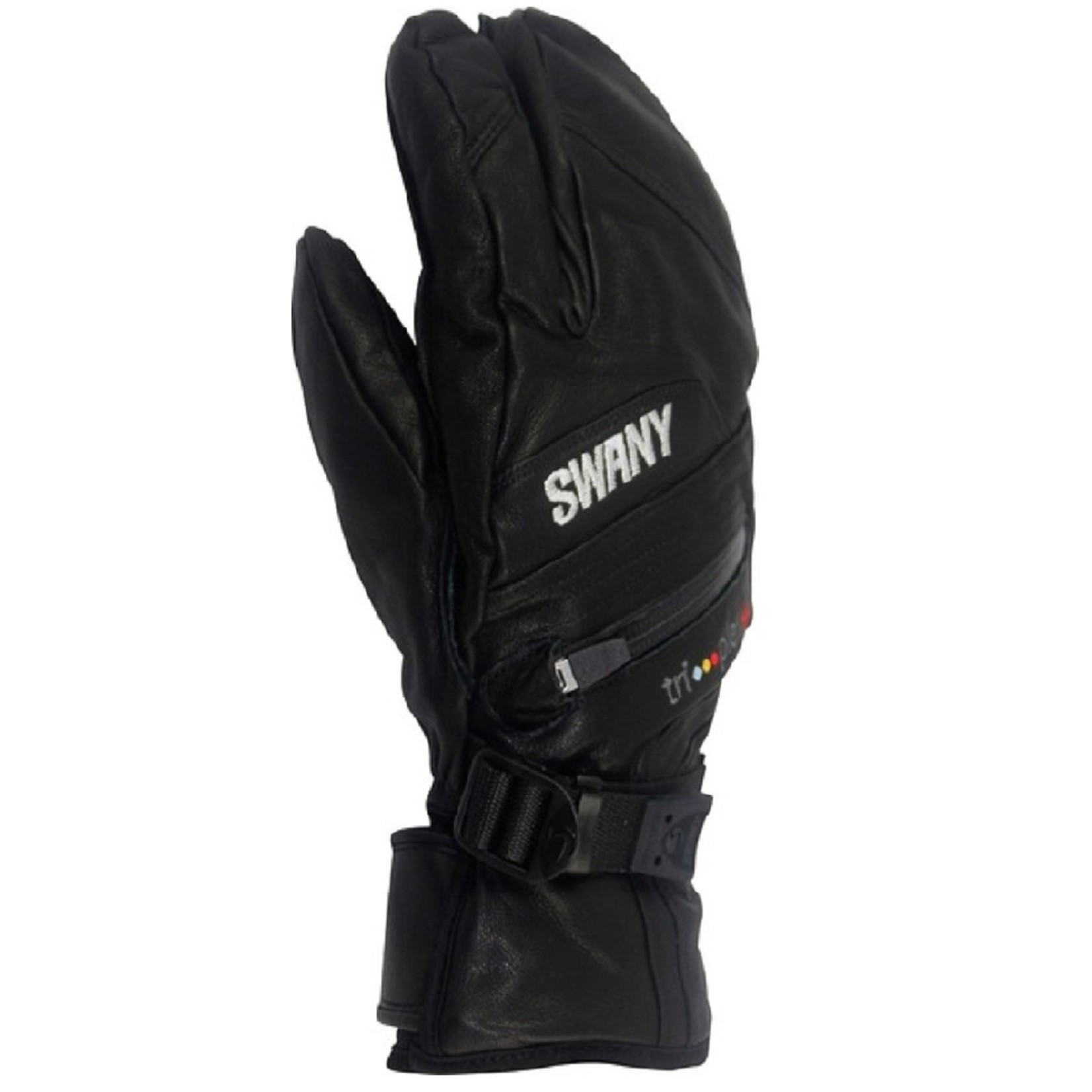 SWANY Lobster Leather Mens black