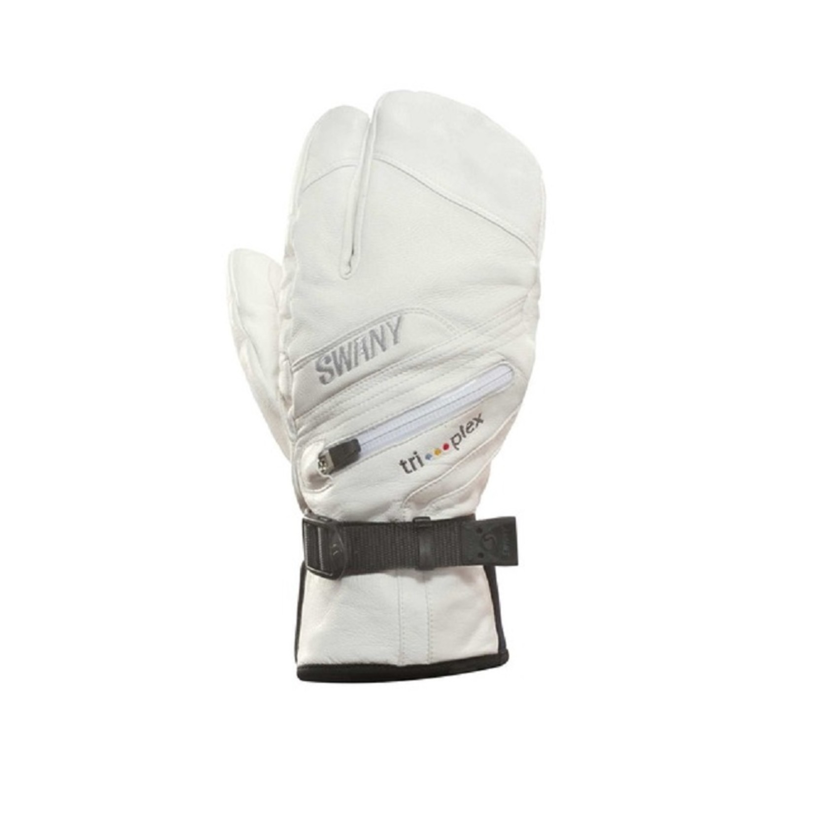 SWANY Lobster Leather Ladies white