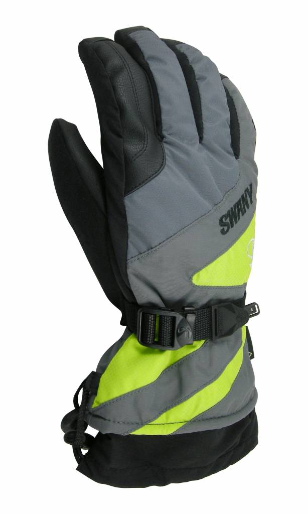 SWANY Glove Mens grey/lime