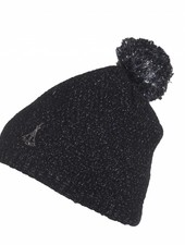 phenix Rose Knit Hat - BK
