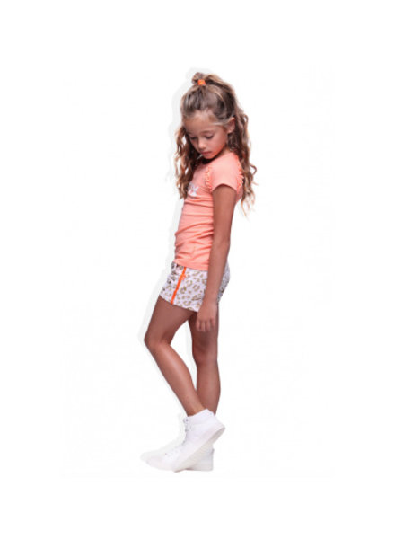 Little Miss Juliette Shirt peach