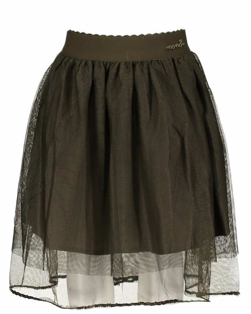 NoNo Nina long tule skirt Color: dusty olive