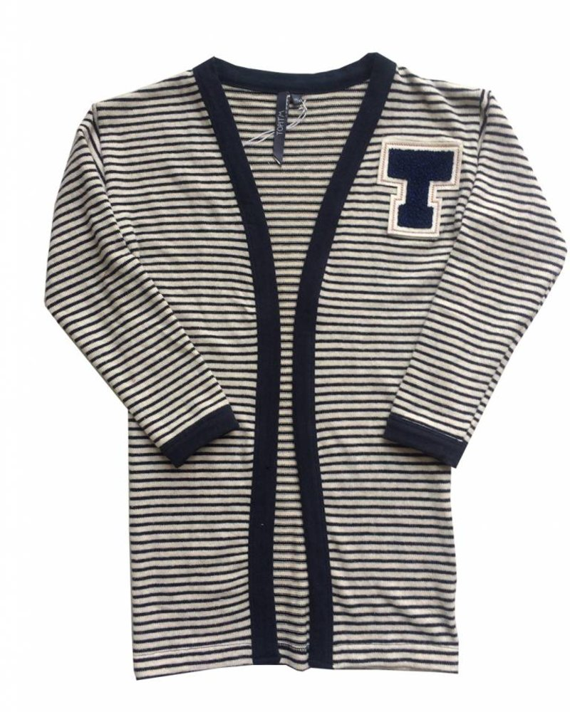 TOPitm Cardigan Melanie stripe