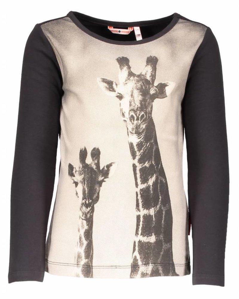 NoNo Kuss Giraf shirt  Color:  Moonless Night