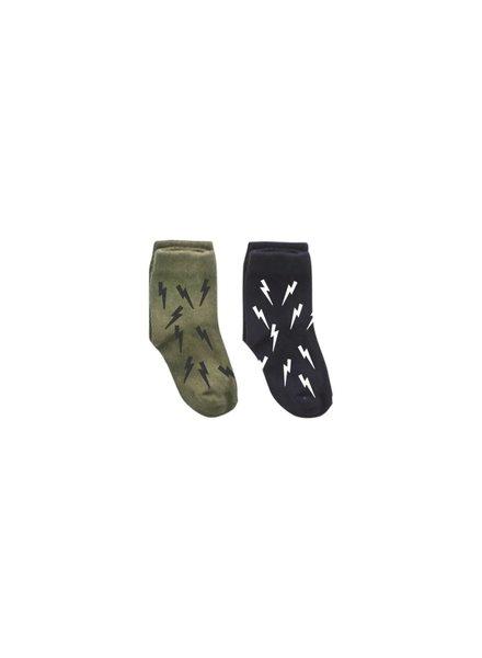 Z8 Sokken Pimmetje Color: Army green