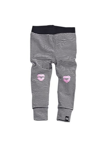 Z8 Legging Rosie Color: graphite/bright white /lollypop pink
