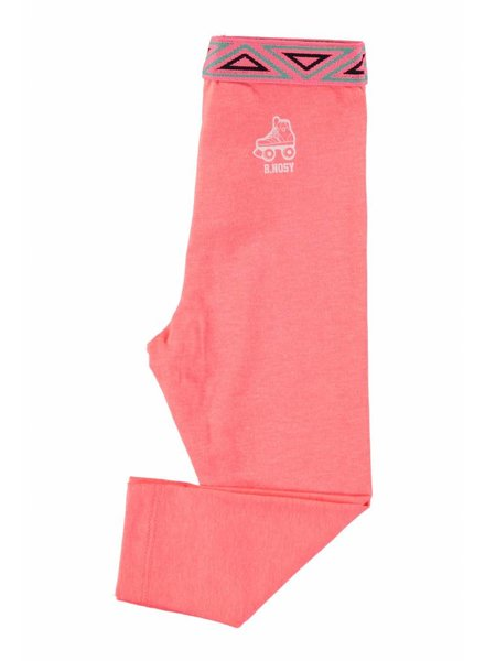 B.nosy Baby girls legging Color: Neon coral