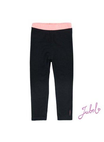 Jubel Legging uni ethnic Color: zwart